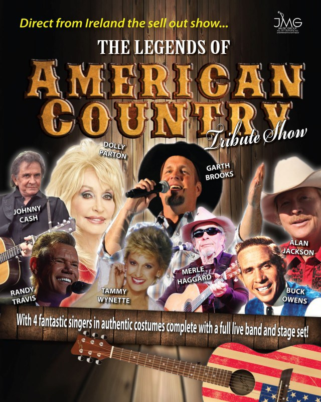 Old Rugged Cross Merle Haggard: The Legends Of American Country Tribute Show