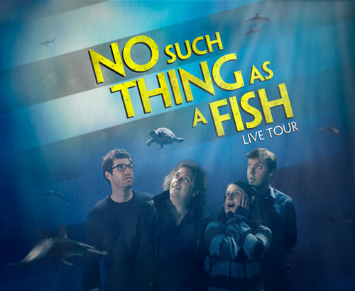 Qi presents no such thing as a fish lowry for No such thing as a fish